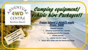 4WD Hire & Camping Package
