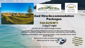 4WD Hire & Accommodation Package