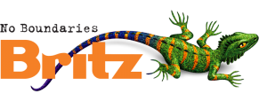 Britz Logo - travel to Rainbow Beach in a Britz campervan!